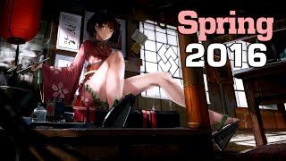 Top 20 Anime Endings of Spring 2016