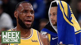 Steph Curry SHOCKS World With Moon Landing Claims! LeBron James Gets EMOTIONAL With D Wade! | WEZ