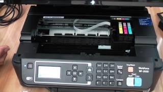 Epson WF-2630 Inserting Ink Cartridges
