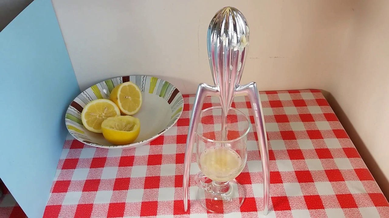 Review Of Alessi Philippe Starck Juicy Salif Lemon Squeezer