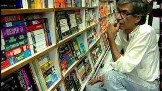 VS Naipaul books and novels at a book-store