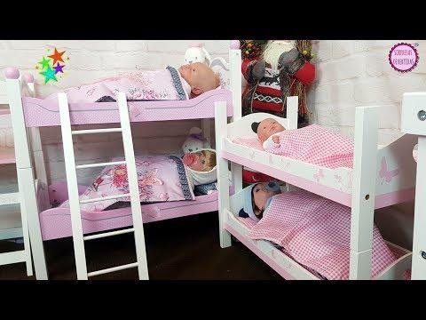 Habitación de Muñecas para mis Bebés de juguete Reborn