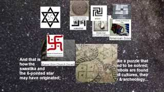 Swastika and 6-Pointed Star: A Linked Origin