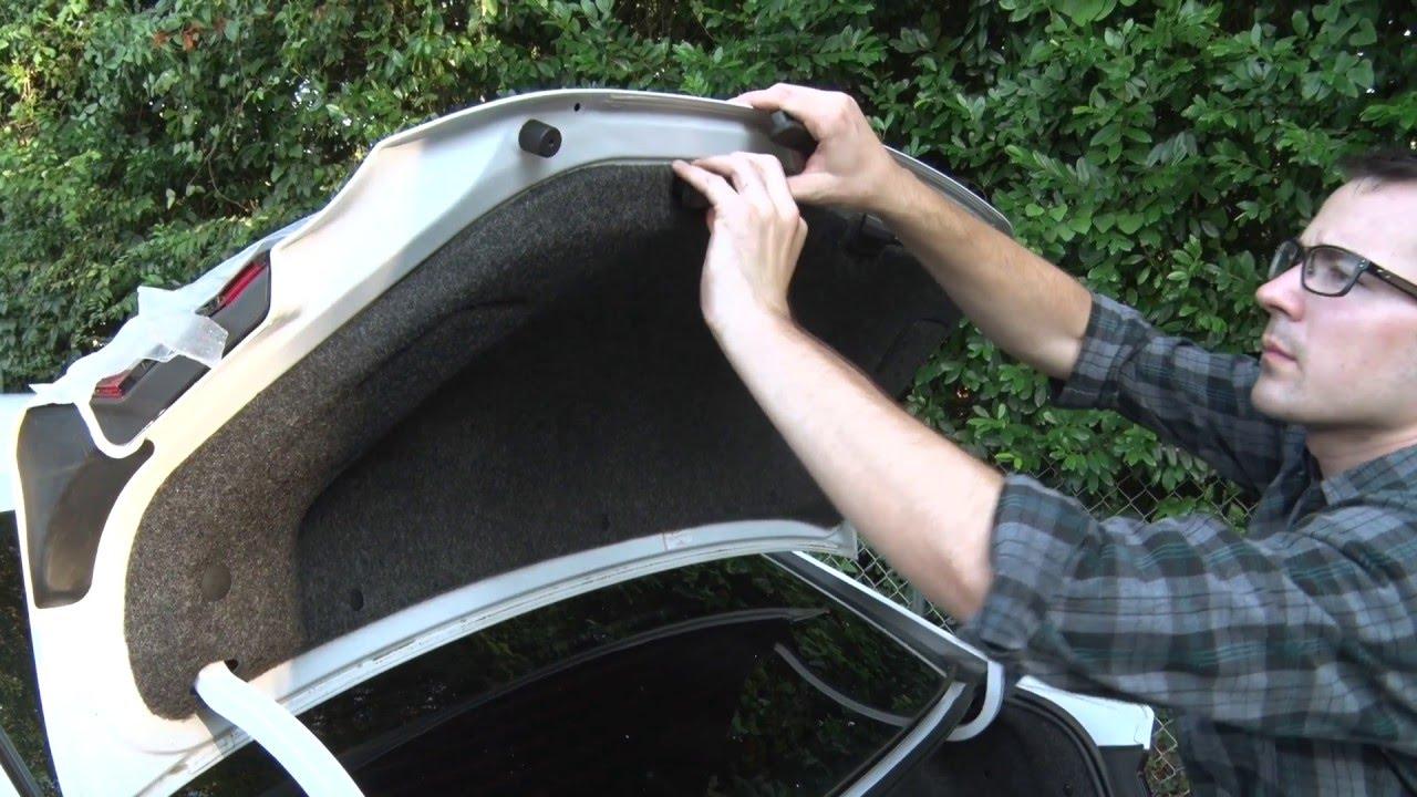 Dodge Dart Racing Taillight Installation on
