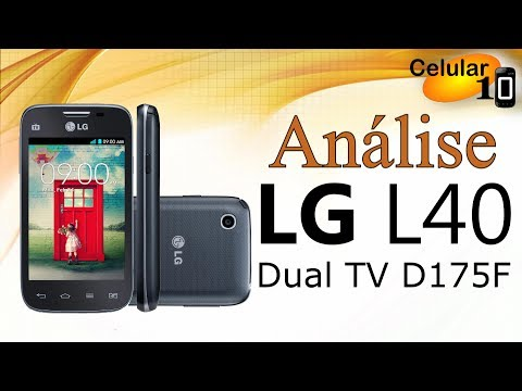 Análise: LG L40 DUAL TV D175F