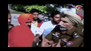 Punjabi University Patiala Sutdents Clash with Punjab Police| By Channel Satrang