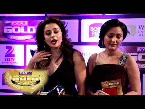 Zee Gold Awards 2016 | Karan Patel, Giaa Manek, Hina Khan, Karan Singh Grover & More Part -2