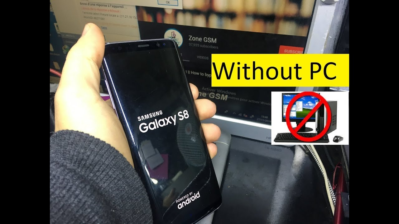 BOOM!!!Samsung S8 SM-G950F Android 8 Remove Google Account Bypass  FRP Without PC
