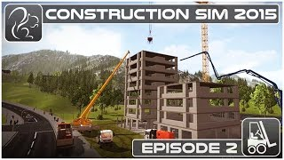 Let's Play Construction Simulator - Episode #2(Trucks, cranes, diggers, forklifts, concrete mixers... it's got it all in this Let's Play series of Construction Simulator! BUY GAMES legally and securely ..., 2015-09-22T15:00:02.000Z)