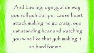 Machel Montano-Bend over lyrics