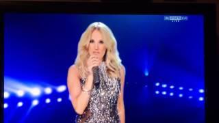 Carrie Underwood Sunday Night Football - Patriots vs Colts theme - 2015