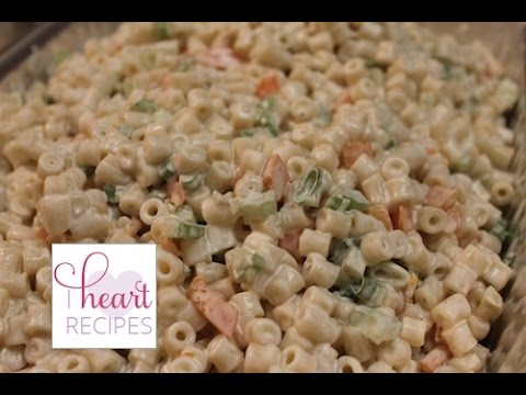 Creamy Macaroni Salad - I Heart Recipes