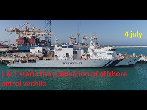 3 Popular defence news ||L&T starts the production of two offshore petrol vessel || #30