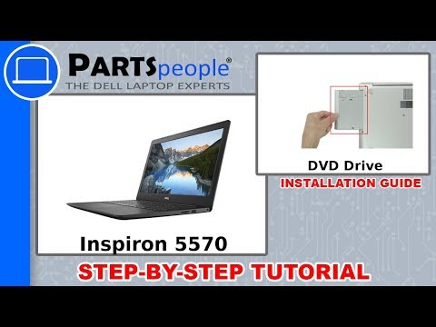Inspiron 15-5570 (P75F001) DVD Drive How-To Video Tutorial