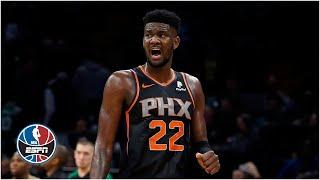 Deandre Ayton (23 pts, 18 rebs) helps Suns beat Celtics for 4th straight win | NBA Highlights