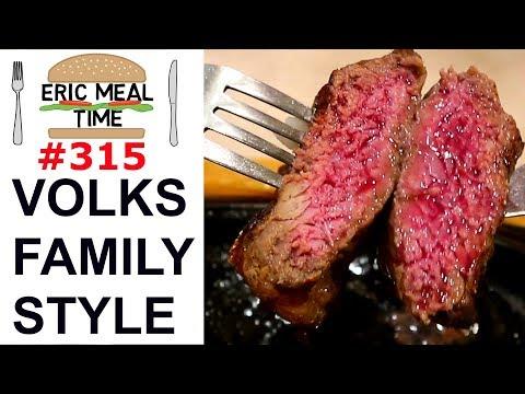 Volks Family Restaurant Japan - Eric Meal Time #315