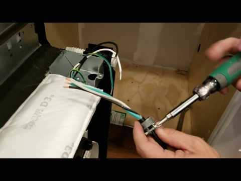 How to wire a Dishwasher,  Electrical Contractor Folsom