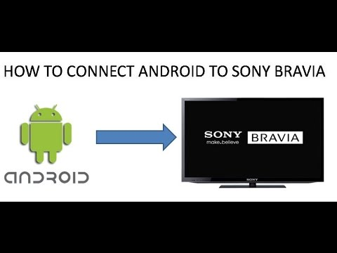 HOW TO CONNECT ANDROID PHONE TO SONY BRAVIA TV WITHOUT ANY CABLES, YOU CAN WATCH PHONE STORAGE IN TV