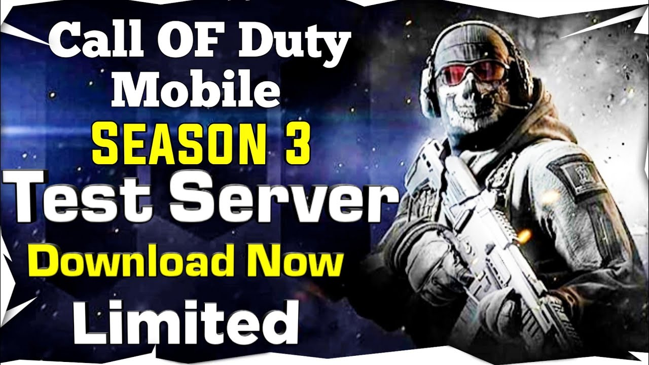 How To Download Test Server Season 3 Call Of Duty Mobile Youtube