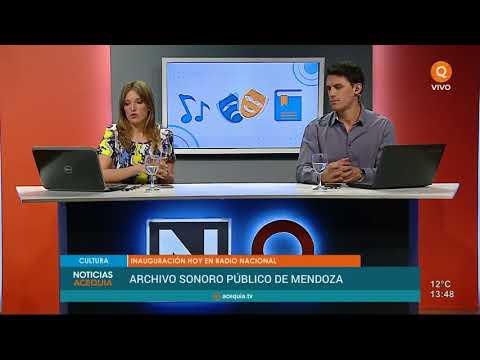 Radio Nacional inaugura el primer archivo sonoro público de Mendoza
