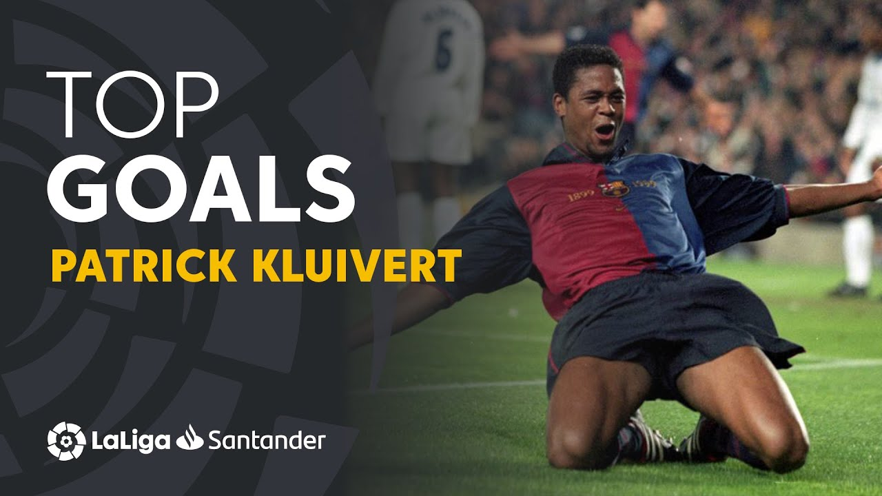 Download TOP 25 GOALS Patrick Kluivert LaLiga Santander