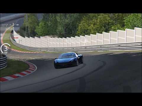 Assetto Corsa, Ferrari 458 Italia, Nordschleife Tourist 7:06:098 (exterior)