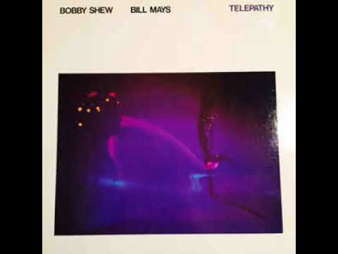 Vinyl LP - Bobby Shew & Bill Mays - Telepathy (Duo Album) 1982