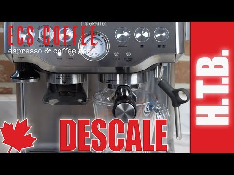How to Descale the Breville Barista Express