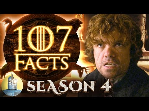 107 Game of Thrones Season 4 Facts YOU Should Know (@Cinematica)