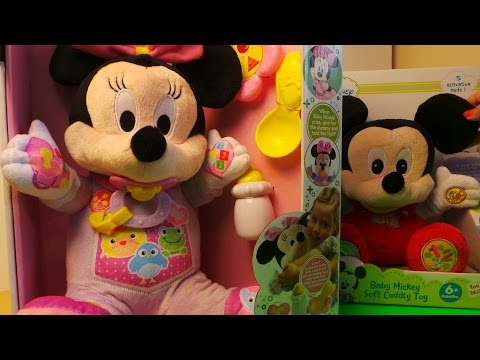 Disney's Baby Minnie Mouse Soft Educational Toy By Clementoni