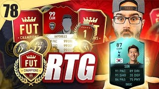 OMG THE NEW SQUAD IS EPIC!! Road To Fut Champions FIFA 17 Ultimate Team #78