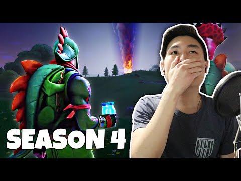 Fortnite Season 4 Trailer/Gameplay!! [REACTION]