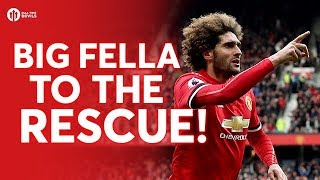 FELLAINI TO THE RESCUE! Manchester United 2-1 Arsenal