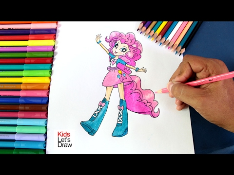 Cómo dibujar a Pinkie Pie (Chicas de Equestria) | How to Draw Pinkie ...