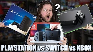 Nintendo Switch vs PS4 vs Xbox One, WHICH IS BEST?