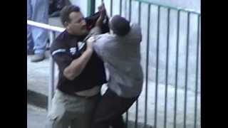 Rugby Fight in Capetown