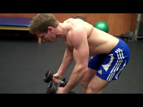 How To: Dumbbell Bent-Over Raise