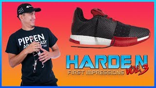ADIDAS HARDEN VOL. 3 Review & First Impressions