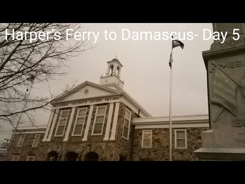 Harper's Ferry to Damascus- Day 5  Appalachian Trail 2018