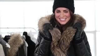 Erica Wark styles Danier