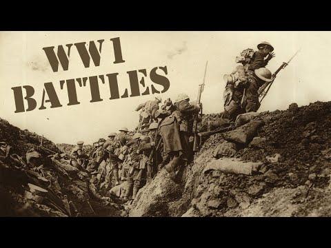 Biggest WW1 Battles