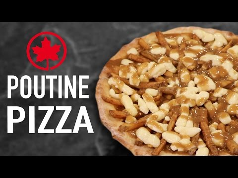 DIY POUTINE PIZZA - CANADA VS US