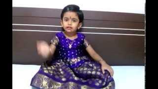 Ashmitha Ashok singing Maadu meikkum kanne(Krishna jeyanthi 2014)