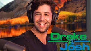JOSH PECK TALKS ABOUT LIFE ON DRAKE & JOSH!