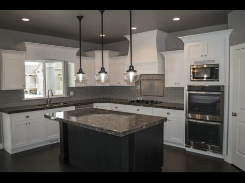kitchen island pendant lights top mount sink spacing over youtube