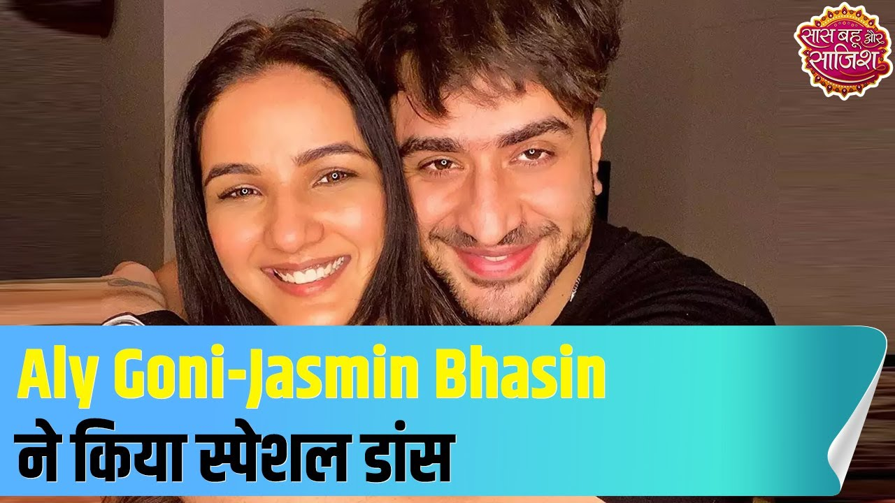 Download Aly Goni-Jasmin Bhasin's special dance on Rahul Vaidya's song|Hot News