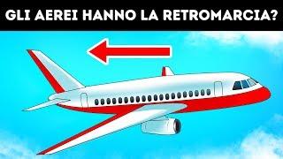 Perché gli aerei non usano la retromarcia