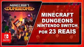 Minecraft Dungeons Para Nintendo Switch Por 23 Reais