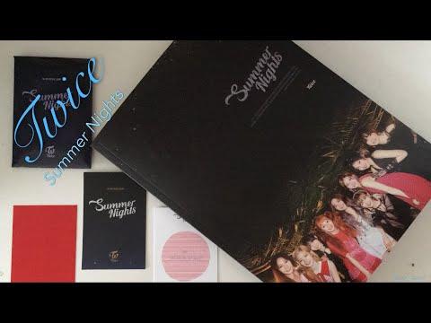 Twice - Summer Nights Album (Version C) Unboxing!