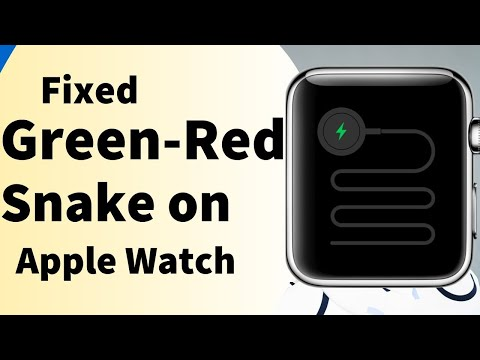 Apple Watch Stuck on Green/Red Snake Screen of Death: Won't Charge: Apple  Watch 4/3/2